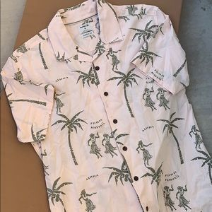 Hurley awesome Hawaiian Shirt NWOT